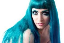Manic Panic Voodoo Blue / Reference pics for Manic Panic Semi-Permanent hair colour in Voodoo Blue. Vegan & Cruelty-Free. Available in Classic & Amplified. For full product catalogue email us: info@anonamiss.co.za
