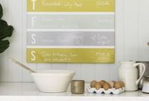 Chart Calendars / A range of calendar boards that can be produced in a magnetic panel or high gloss acrylic perspex - you choose.  The boards come in a variety of sizes to suit your space.