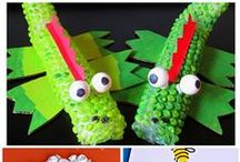Arts and Crafts with Kids / Collection of fun arts and crafts ideas!