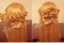 Hairstyles / Nutturoita, lettejä ja ikinä voitkaan hiuksista loihtia!