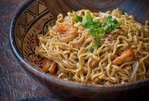 Indonesian cuisine / Indonesialais ja aasialaisvaikutteisia reseptejä