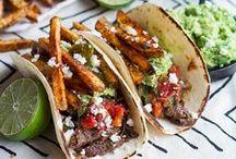 Mexican style cuisine / Meksikolaisvaikutteista sapuskaa