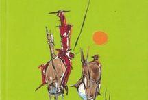 Quijotes para niños y jóvenes / Colección de quijotes infantiles y juveniles en la Biblioteca de Educación de la Universidad Autónoma de Madrid