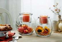 """PartyLite Inspirations - Clearly Creations """"Escential & GloLite"""" / Luovuus somiste Escential kynttiläpurkille ja GloLite kynttiläpurkille"""