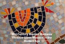 Mid Century Modern Mosaics / Mosaics created in the 50's and 60's