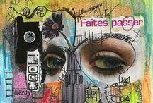 ART ~ Collages and mixed media ~ Kollaasit ja sekatekniikka