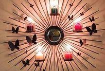 PartyLite seinälampetteja / Lampetteja eri sarjoista PartyLitelta