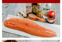 Fish dish / Kalaruokia