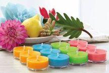 Kesän 2016 uutuus tuoksutuotteet / PartyLite kynttilät & liekittömät kesäkuvastossa 2016