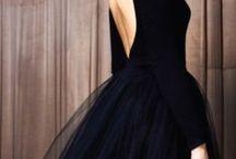 OPM - BLACK WEDDING DRESS