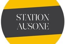 STATION AUSONE / identité visuelle de www.station-ausone.com