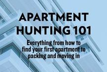 Apartment Hunting Advice / So, you need to find a new place to live and you've entered panic mode at the mere thought of it. Take a deep breath and relax because we've got you covered on this one. Check out these apartment hunting tips to make moving less stressful.