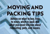 Moving Tips / Moving can be stressful--but it doesn't need to be! Your friends at Rent.com are here to help with the best packing and moving tips.