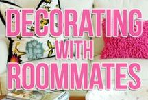 Living with Roommates / Living with a roommate or two ... or five? Rent.com gives you advice for finding and living with roommates in you apartment. / by Rent.com