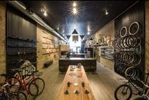BIKE STORE INSPRATION  / Bike stores from all over the world, inspration to my bike shop ind copenhagen . take a look and happy pinning.