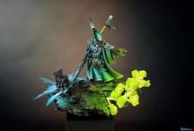 WH40k Miniatures - Eldar / Warhammer 40k Eldar Miniatures and nice / incredible Paintjobs
