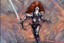 WH40k - Eldar / Warhammer 40k Artwork Eldar Harlequin