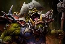 WH40k - Orks / Warhammer 40k Ork Art Artwork