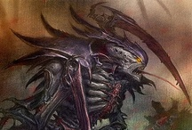 WH40k - Tyranids / Warhammer 40k Art Artwork Tyranids
