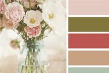 Color Palettes We Love / Need some color inspiration for your home decor? Check out some of Rent.com's favorite color palettes, and give your apartment the pop of color it deserves.