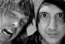 My Heros. / Bands/music has helped me through a lot, and I really don't know where in my life I would be if I did not have such crazy, amazing role models out there in the world.