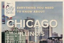 Chicago Living / Whether your new to the city or just visiting, Rent.com tells you what to do in Chicago. From where to go for happy hour to the best dog parks, check out what Chicago, Illinois has to offer. / by Rent.com