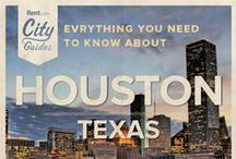 Houston Living / Whether your new to the city or just visiting, Rent.com tells you what to do in Houston. From where to go for happy hour to the best dog parks, check out what Houston, Texas has to offer. / by Rent.com