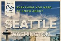 Seattle Living / Whether your new to the city or just visiting, Rent.com tells you what to do in Seattle. From where to go for happy hour to the best dog parks, check out what Seattle, Washington has to offer. / by Rent.com