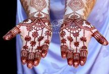 Bridal Mehndi Inspiration / Featuring the work of incredibly talented international artists.