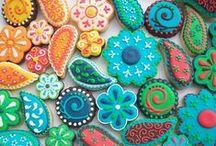 Edible Henna Art / Simply delicious artwork!