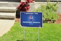 Political Signs / Get your political sign designed and printed with us!