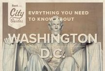Washington D.C. Living / Whether your new to the city or just visiting, Rent.com tells you what to do in Washington, D.C. From the best sports bars to the best places for history enthusiasts, check out what Washington, D.C. has to offer. / by Rent.com
