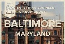 Baltimore Living / Whether your new to the city or just visiting, Rent.com tells you what to do in Baltimore. From the best neighborhoods to the best sports bars, check out what Baltimore, Maryland has to offer. / by Rent.com