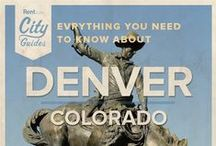 Denver Living / Whether your new to the city or just visiting, Rent.com tells you what to do in Denver. From where to go for live music to the best dog parks, check out what Denver, Colorado has to offer. / by Rent.com