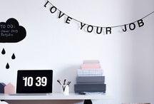 My workspace / En busca del rincón ideal para trabajar. Porque si tu espacio es bueno, tu trabajo también lo es.