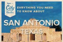 San Antonio Living / Whether your new to the city or just visiting, Rent.com tells you what to do in San Antonio. From best spring activities to the best neighborhoods for families, check out what San Antonio, Texas has to offer. / by Rent.com