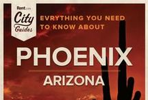 Phoenix Living / Whether your new to the city or just visiting, Rent.com tells you what to do in Phoenix. From best spring activites to the best neighborhoods for families, check out what Phoenix, Arizona has to offer. / by Rent.com