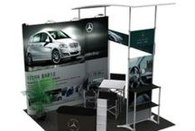 Specially Designed Exhibition Booth / Hawk Display designed customized exhibition booths for individual brands.