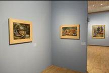 """EXPOSITION """"Bissière : figure à part"""" / Images de l'exposition """"Bissière : figure à part"""" au Musée des Beaux Arts de la Ville de Bordeaux.  Plus d'infos > http://www.station-ausone.com/evenements/roger-bissiere-1886-1964-figure-part/"""