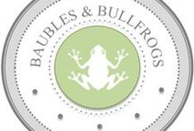 Baubles & Bullfrogs Products