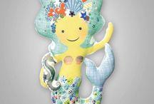 Игрушки-подушки / Игрушки-подушки своими руками. Интересные интерьерные решения для детской комнаты. Легко шить, легко играть. #smalltotallrf