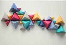 Origami. Deco.