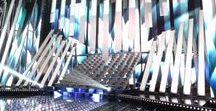 Sanremo 2017 / Scenography for TV show Sanremo 2017 Scenographer: Riccardo Bocchini Client: RAI Radiotelevisione Italiana SpA