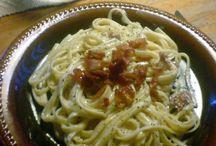 Pasta / En perfekt tillagad pasta måste innehålla mycket kärlek – balsam för själen.