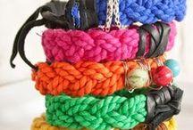 DIY bracelets etc