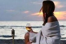 WINE DIVA / That feeling when that first sip of wine touches our soul.