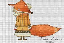 Cross-stitch / by Deb Costigan