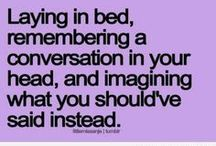 insomnia - shut up brain
