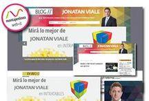 Jonatan Viale | http://jonatanviale.com/ / Somos un joven estudio de comunicación digital que integra el diseño, la comunicación y el desarrollo informático en un pool de servicios para nuestros clientes. Comunicación Digital Facebook: montajenlinea | Twitter: @montajenlinea