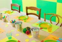 Notre vie colorée - Our Colorful Life / It's all about the colors around us! - Les couleurs autour de nous sont inspirantes!